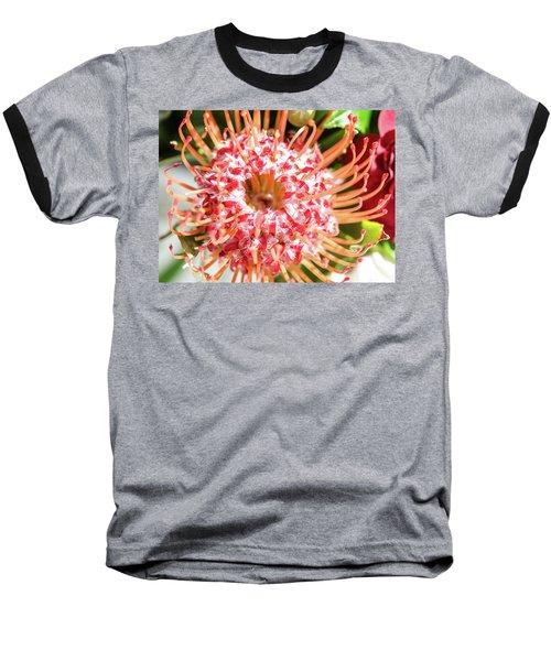 Spider Flower Baseball T-Shirt