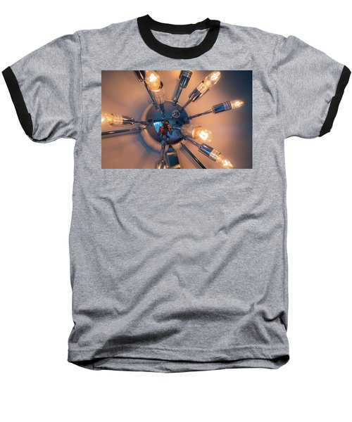 Spider Light Reflected Portrait Baseball T-Shirt