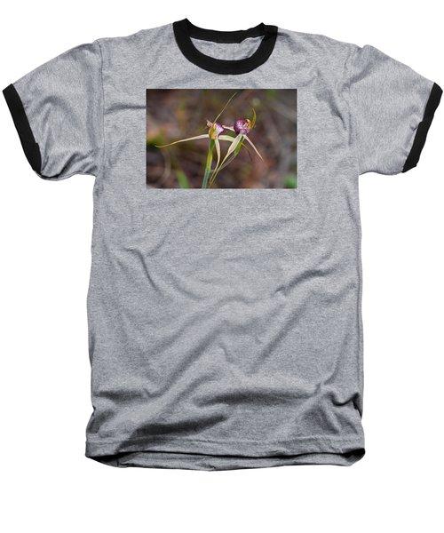 Spider Orchid Australia Baseball T-Shirt