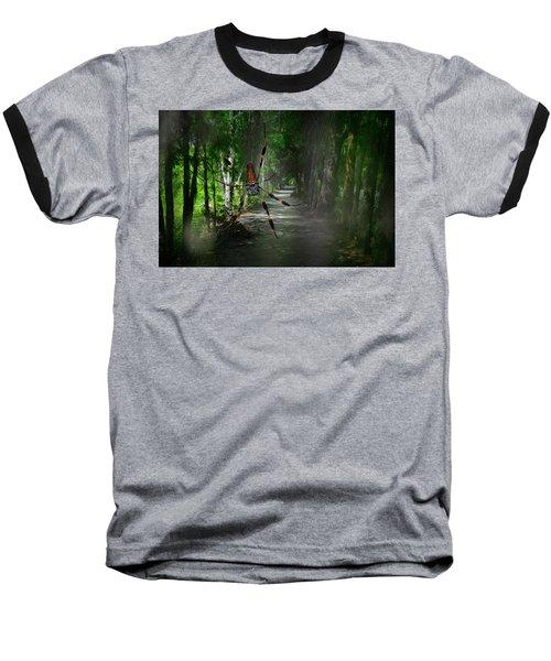 Spider Road Baseball T-Shirt