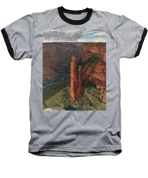 Spider Rock, Canyon De Chelly Baseball T-Shirt