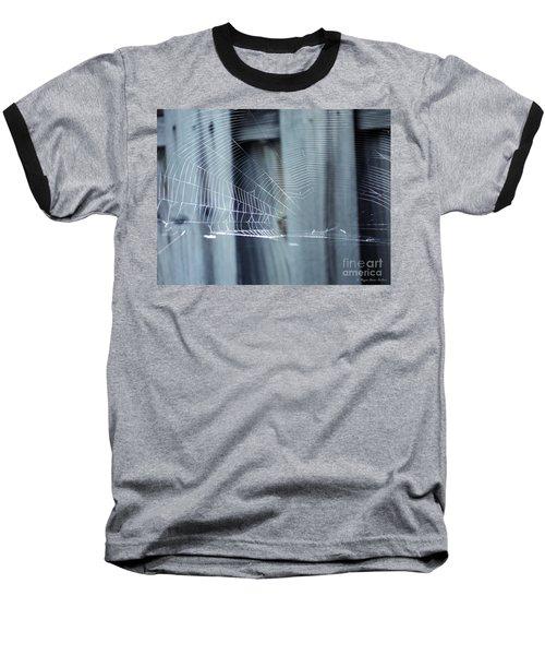 Baseball T-Shirt featuring the photograph Spider Web by Megan Dirsa-DuBois
