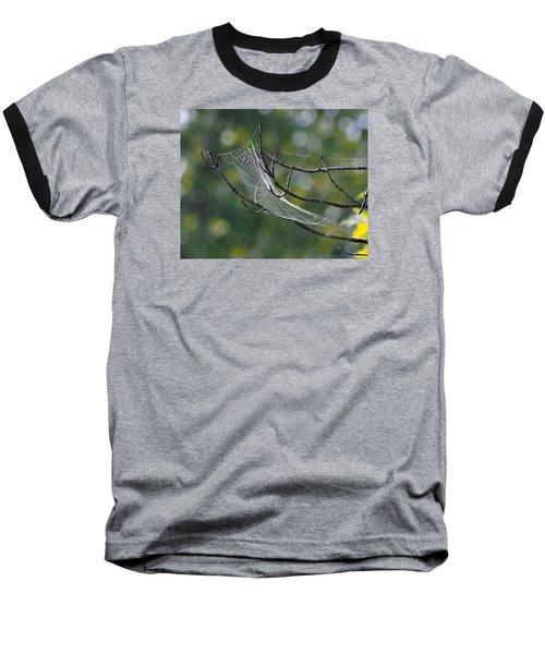 Spider Web Baseball T-Shirt