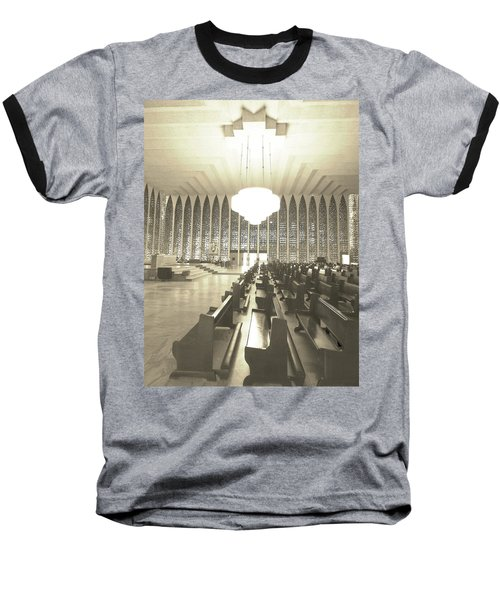 Baseball T-Shirt featuring the photograph Spritual Connection by Beto Machado