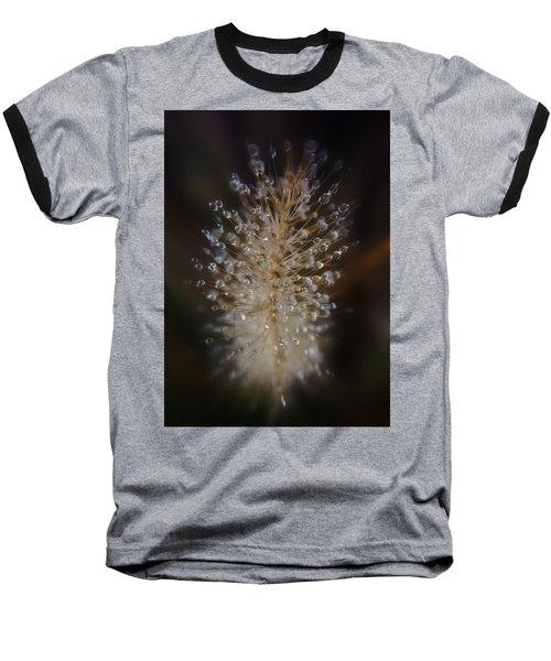 Spiked Droplets  Baseball T-Shirt