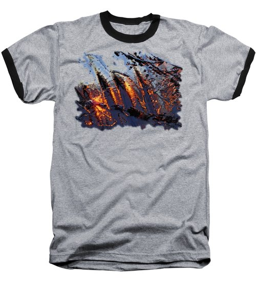Spiking Baseball T-Shirt by Sami Tiainen