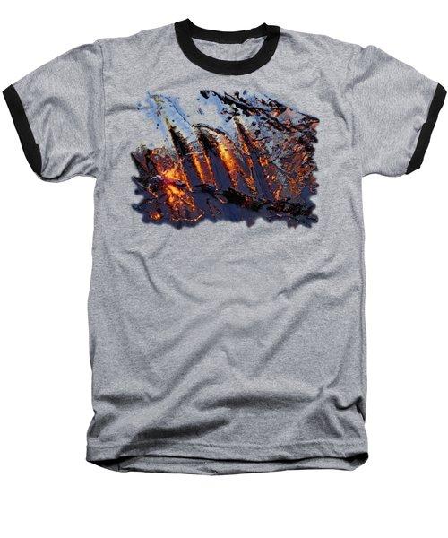 Spiking Baseball T-Shirt
