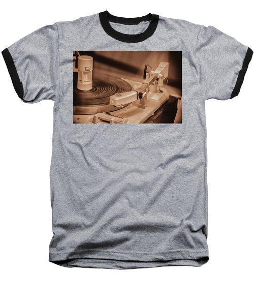 Spin Baseball T-Shirt by Pamela Williams