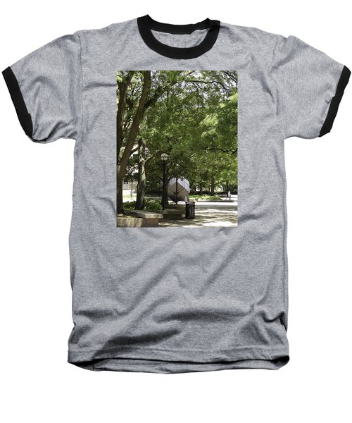 Spinning Cube On Campus Baseball T-Shirt
