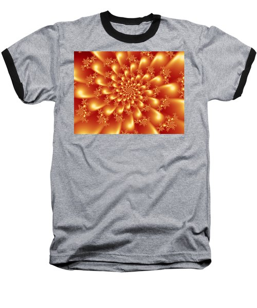 Spinning Gold Baseball T-Shirt