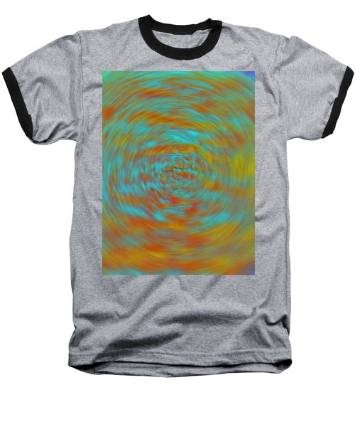 Baseball T-Shirt featuring the photograph Spinning Out Of Control by Lenore Senior