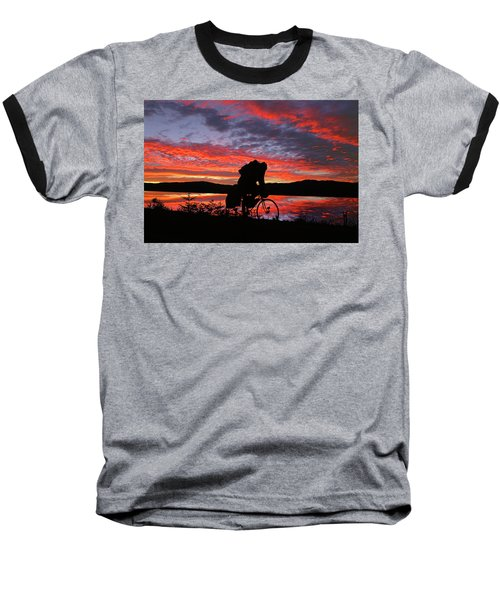 Spinning The Wheels Of Fortune Baseball T-Shirt