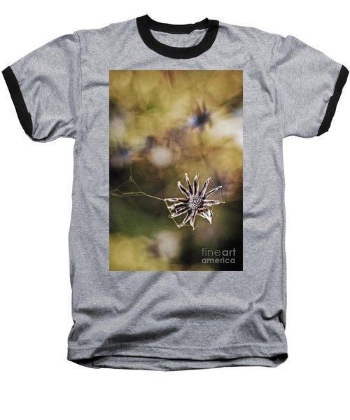 Spinnumwobner Bluetenstand Baseball T-Shirt
