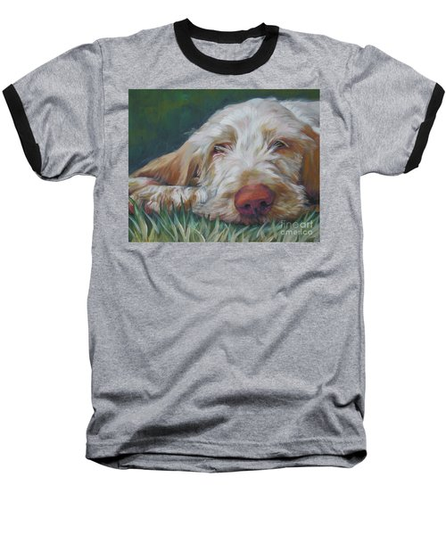 Spinone Italiano Orange Baseball T-Shirt