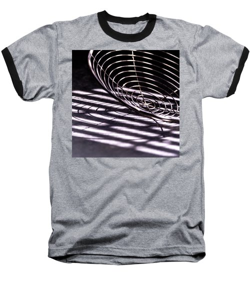 Spiral Shadows Baseball T-Shirt