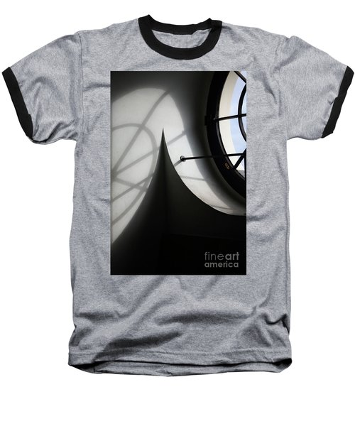 Spiral Window Baseball T-Shirt by Ana Mireles