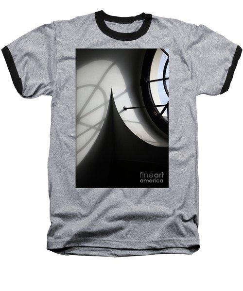 Spiral Window Baseball T-Shirt