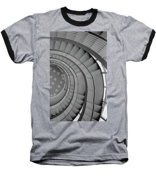 Spiraling Down  Baseball T-Shirt