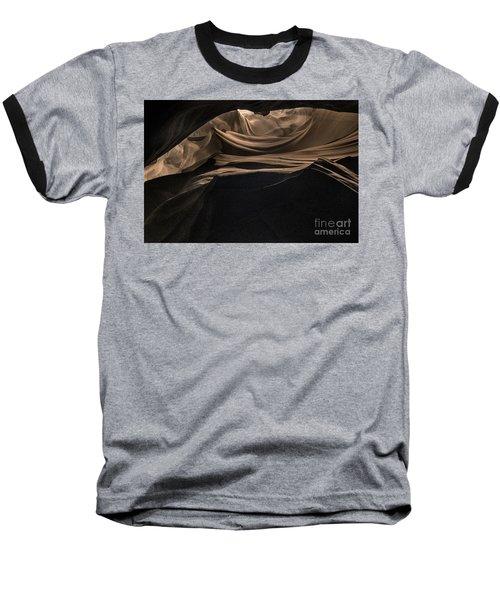 Spiraling Toward The Light Baseball T-Shirt by William Fields