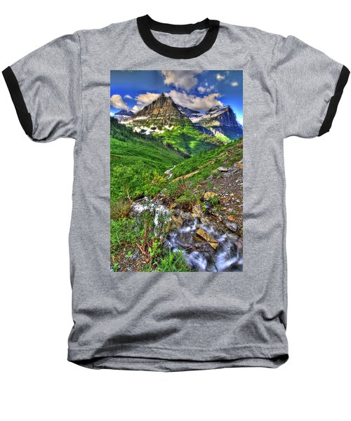 Spires And Stream Baseball T-Shirt