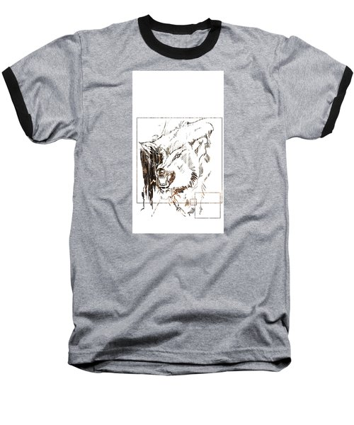 Spirit Animal . Wolf Baseball T-Shirt
