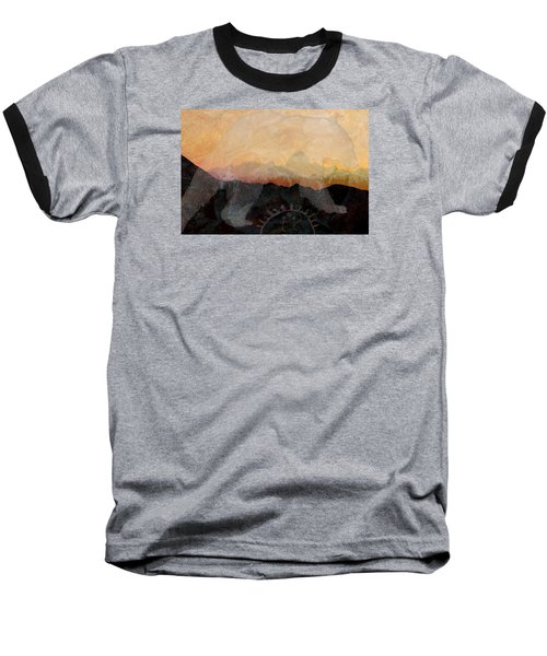 Spirit Bear # 6 Baseball T-Shirt by Ed Hall