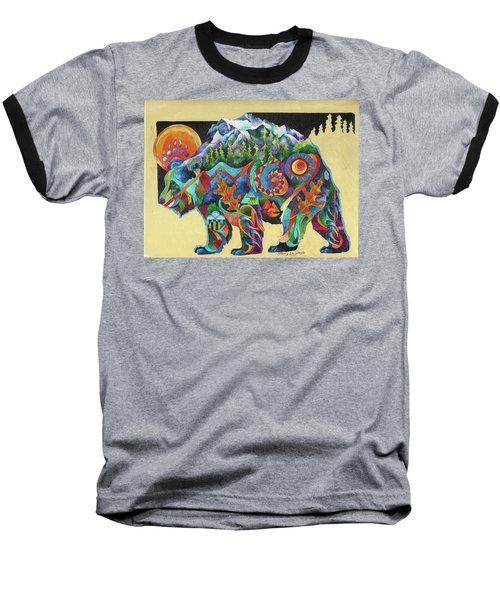 Spirit Bear Totem Baseball T-Shirt
