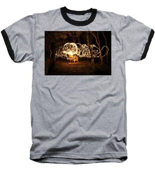 Spirit Dance Baseball T-Shirt by Ellery Russell