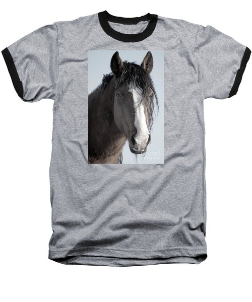 Spirit Horse Baseball T-Shirt