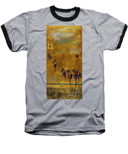 Spirit Horses Baseball T-Shirt