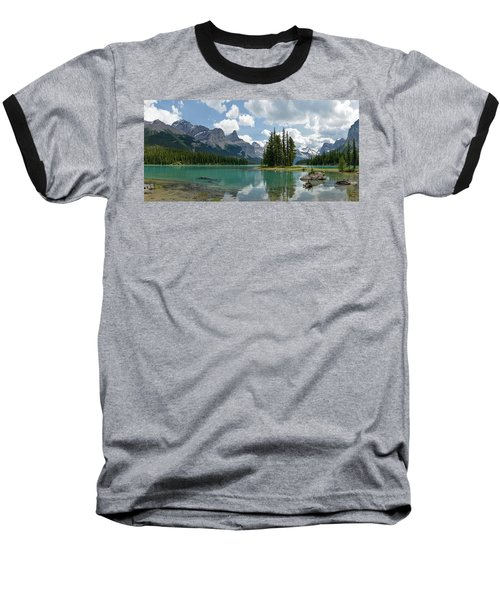 Spirit Island And The Hall Of The Gods Baseball T-Shirt by Sebastien Coursol