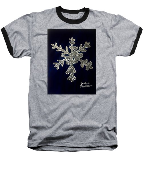 Snow Day Baseball T-Shirt by Joshua Maddison