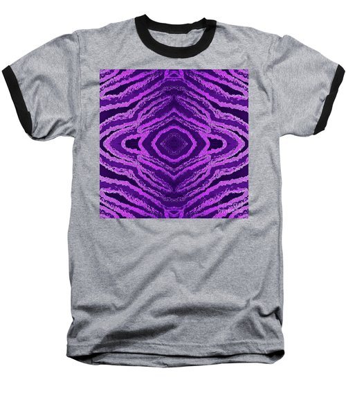 Spirit Journey Inward Baseball T-Shirt by Rachel Hannah