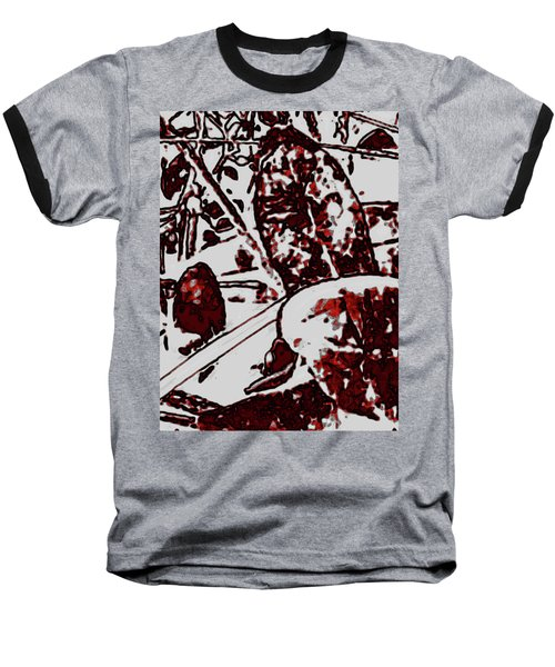Spirit Of Leaves Baseball T-Shirt by Gina O'Brien
