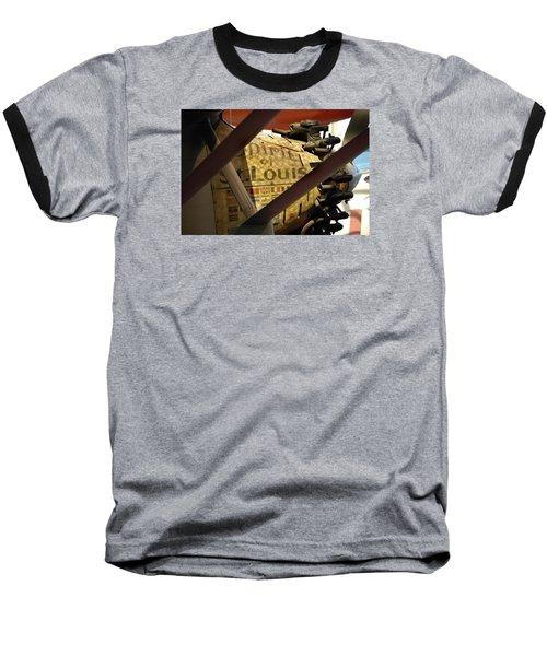 Spirit Of St Louis At Smithsonian Baseball T-Shirt