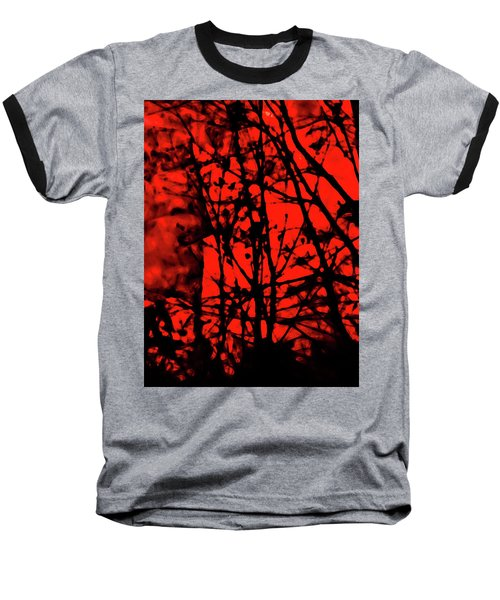 Spirit Of The Mist Baseball T-Shirt by Gina O'Brien