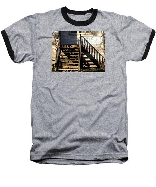 Spirit Stairs Baseball T-Shirt by Brian Chase