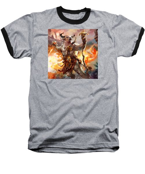Spiritcaller Shaman Baseball T-Shirt