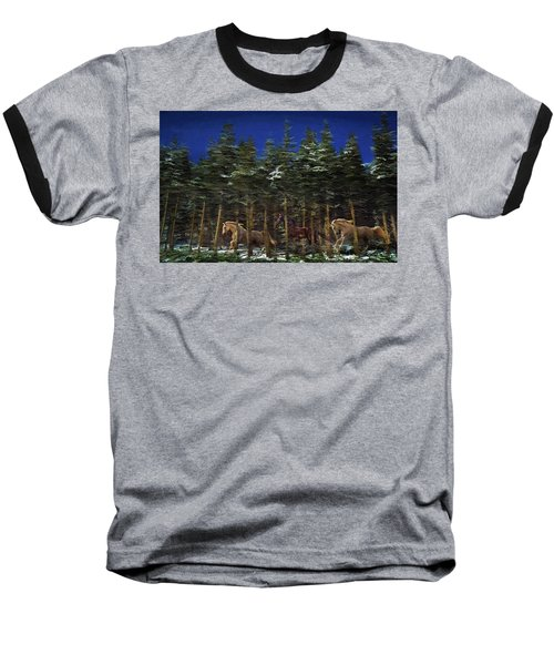 Spirits Of The Forest Baseball T-Shirt