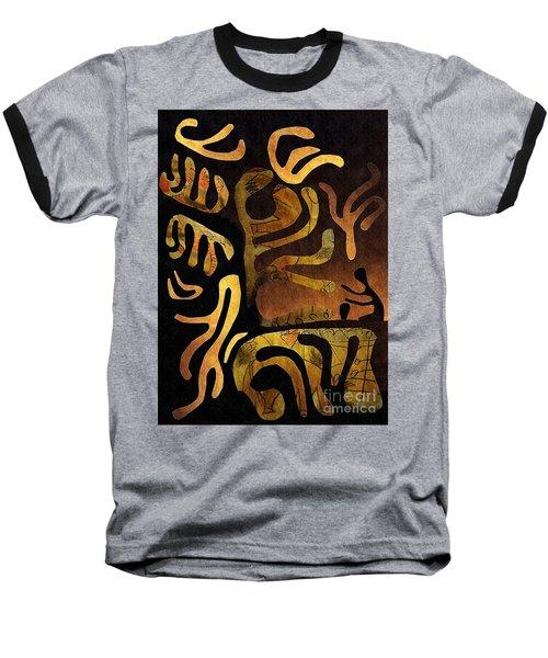 Spiritual Drummer Baseball T-Shirt by Sarah Loft