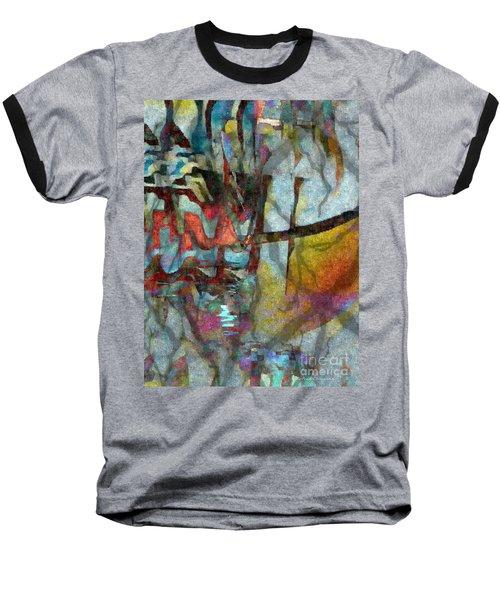 Spirit Quest Baseball T-Shirt by Kathie Chicoine