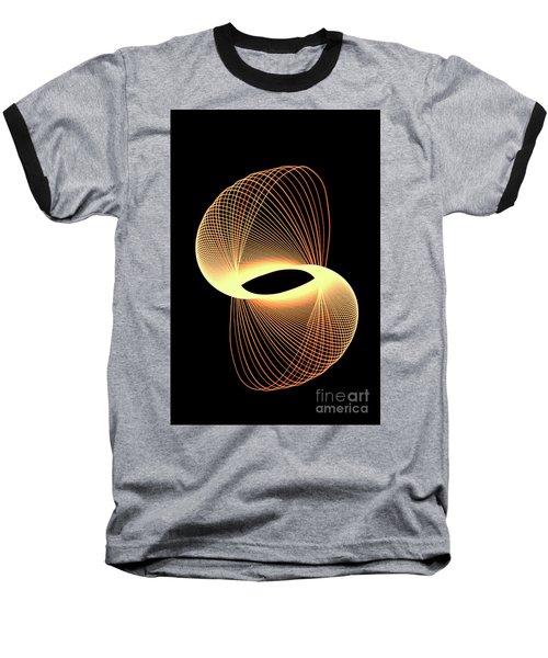 Spirograph Spiral 07 Baseball T-Shirt