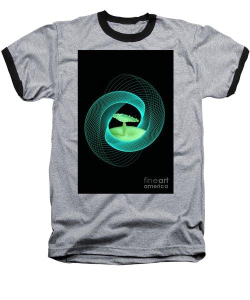 Spirograph Water Drop Baseball T-Shirt
