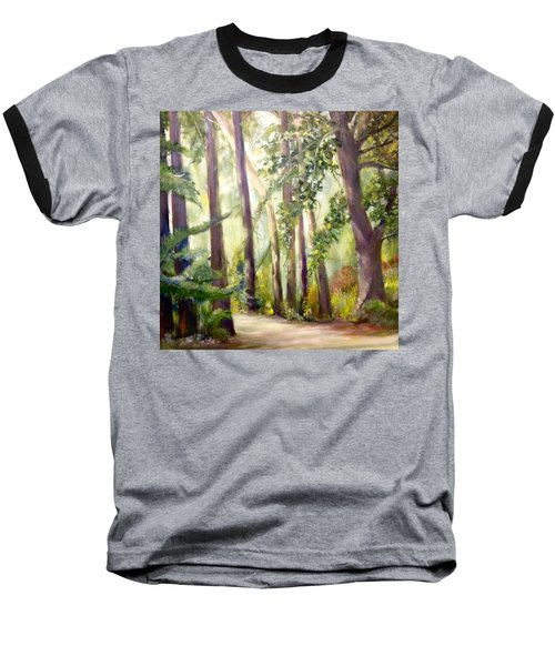 Spirt Of The Green Trees Baseball T-Shirt
