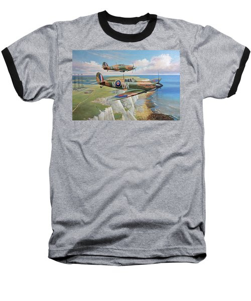 Spitfire And Hurricane 1940 Baseball T-Shirt