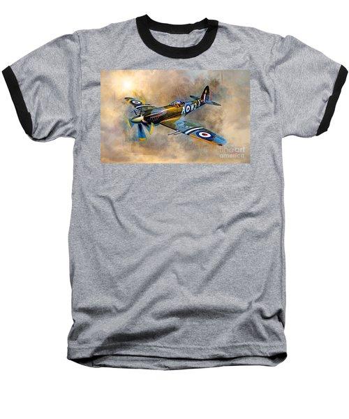 Spitfire Dawn Flight Baseball T-Shirt