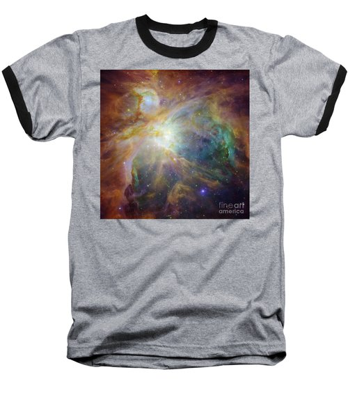 Spitzer And Hubble Create Colorful Masterpiece Baseball T-Shirt by R Muirhead Art