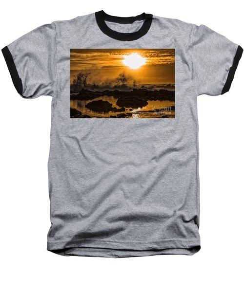 Splash Baseball T-Shirt by Billie-Jo Miller