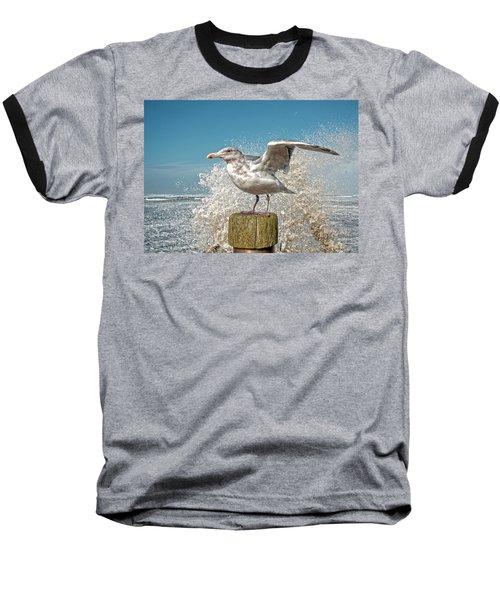 Splash Gull Baseball T-Shirt