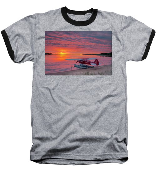 Splash-in Sunrise Baseball T-Shirt